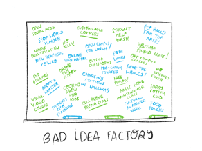 2. Bad ideas